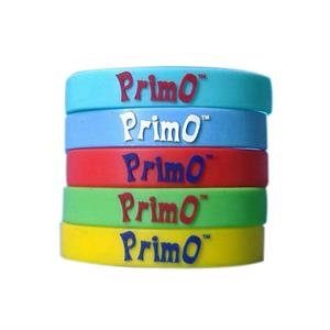 Custom Embossed Colorfilled Silicone Wristbands