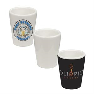 This 1.5 Oz Ceramic Shot Glass Is Our Most Popular Dye-sublimation Substrate!