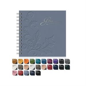 "Deluxe Cover 7"" X 7"" Square Note Pad Journal With 100 Sheets Ruled Paper"