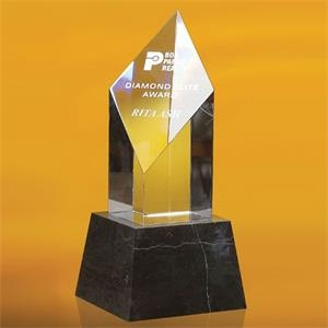 "Sofia Diamond Shaped Award 8\"""