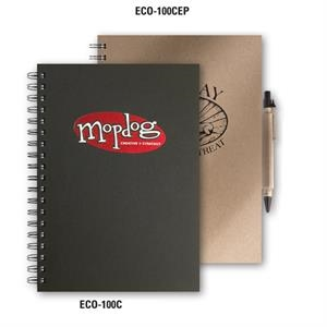 Ecobooks (tm) - Large Journal Made From Post Consumer 100% Recycled Materials
