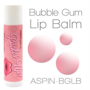 Bubblegum Lip Balm Made With Natural And Organic Ingredients. Contains Spf 15