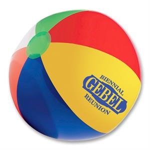 "Classic Beach Ball, 12"". Phthalate Safe"