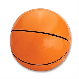 Basketball - Sport Ball Beach Ball. Measures Inflated, Half The Circumference. Phthalate Safe