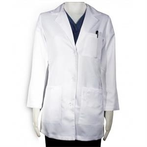 Sa346cs Cs Women's Lab Coat - White - 32""