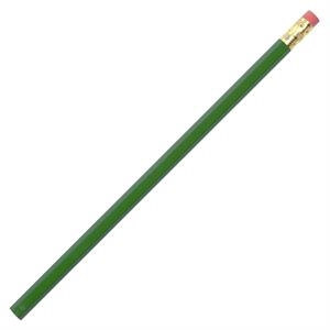 Green - Pencil With Bonded #2 Core In A Quality Hexagonal Wood Barrel