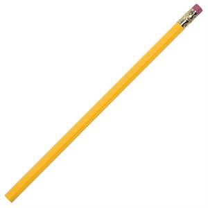 Yellow - Pencil With Bonded #2 Core In A Quality Hexagonal Wood Barrel