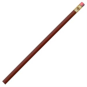Burgundy - Pencil With Bonded #2 Core In A Quality Hexagonal Wood Barrel