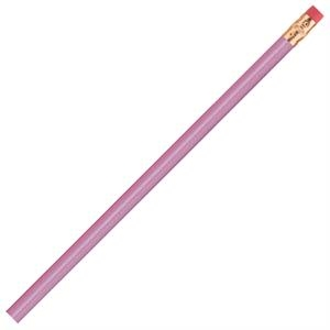 International (tm) - 2 Color Imprint - Lavender - Bonded Core Pencil In A Wood-cased Barrel With Brass-colored Ferrule And Red Eraser