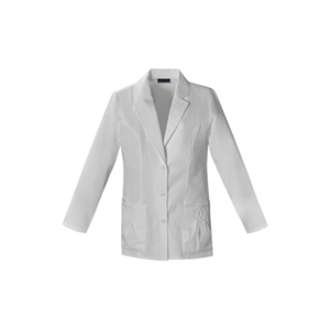"Sa2412 Cherokee 28"" Lab Coat - White"