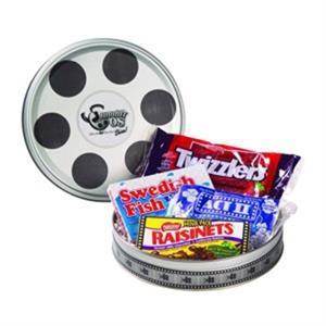 Large Film Reel Tin / Movie Pack