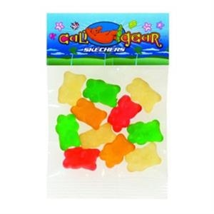 Bear - 1 Oz Gummy Candy In A Header Bag
