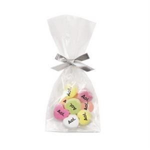 Favor Bag Filled With 8 Conversation Hearts That Have Custom Messages