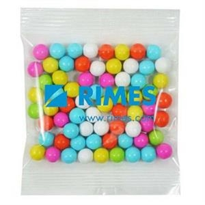 Promo Snax Sixlets (r) - 2 Oz - Candy Covered Chocolatey Beads In A Cello Bag