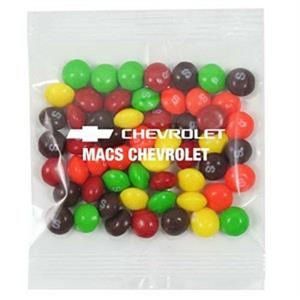 Promo Snax Skittles (r) - 2 Oz - Chewy Candy In Cello Bag