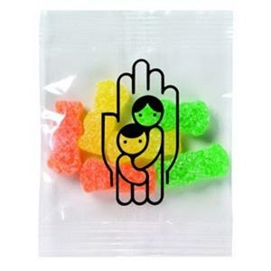Promo Snax Sour Patch (r) - 1/2 Oz - Soft Candy With Coating Of Sour Sugar In A Cello Bag