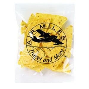 Promo Snax - 1 Oz - Taco Chips In Cello Bag