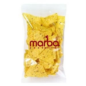 Promo Snax - 2 Oz - Taco Chips In Cello Bag