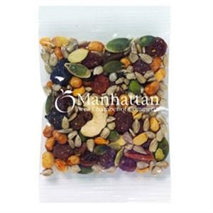 Promo Snax - 1 Oz - Trail Mix In Cello Bag