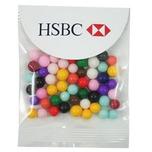 Fresh Gems - 1 Oz Mints In A Header Bag With Round Top