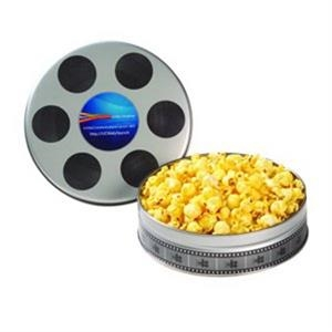 Small Film Reel Tin / Butter Popcorn
