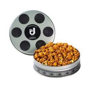 Small Film Reel Tin / Caramel Popcorn