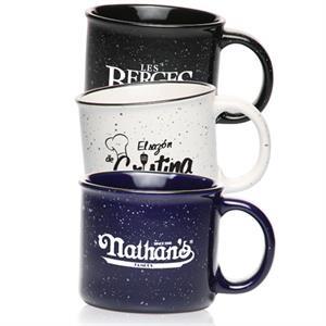 13 oz. Ceramic Campfire Coffee Mugs