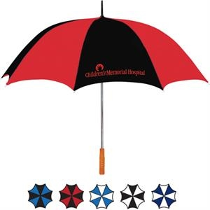 "Two-tone 60"" Golf Umbrella"