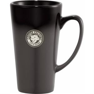 Cafe Tall Latte Ceramic Mug, 14 Oz