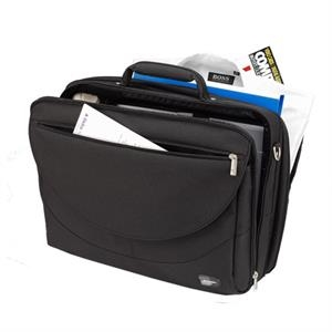 "Passage - Side Loading, Full Size Single Compartment Computer Brief, Fits 15.6"" Pc"