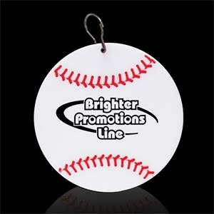"Baseball 2/12"" Plastic Medallion"