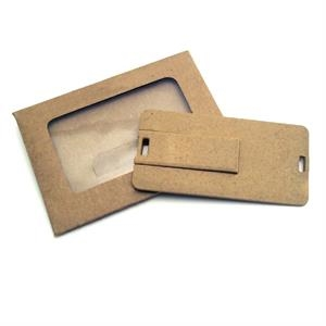 1gb - Eco Friendly Plastic Card Usb Drive