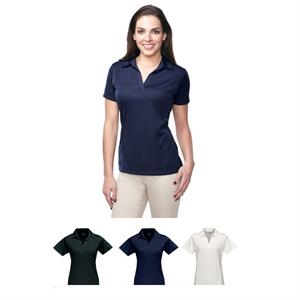 Lady Innovate Performance (tm) - 4 X L - Women's 5.3 Oz 100% Polyester Mini Grid Polo Shirt