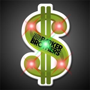 Printed Dollar Sign Body Lights, 60 Day Production