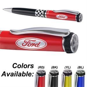 Itread Checkered Flag Wheeltop Ballpoint Pen