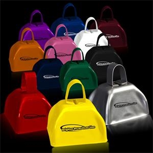 "3"" Metal Cowbell - Assorted Colors"