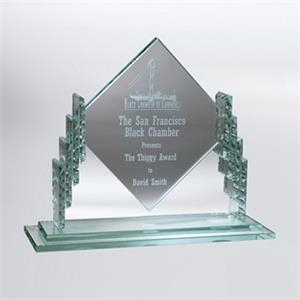 Dayton Diamond Shaped Plaque 9""