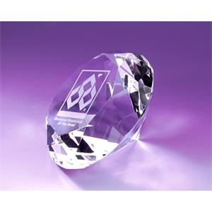 Independence Diamond Paperweight 100mm