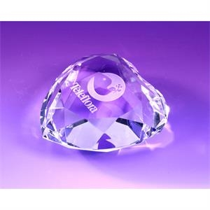 Kenton Heart Shaped Paperweight 3""