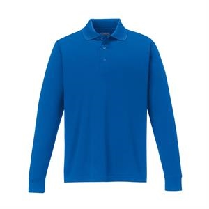 Core 365 (tm) North End Pinnacle - 2 X L - Men's Performance Long Sleeve Pique Polo