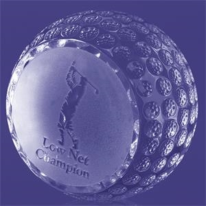 Trafford Golf Ball Trophy 2 1/4""