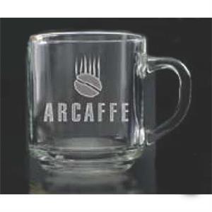 Capri Glass Coffee Mug