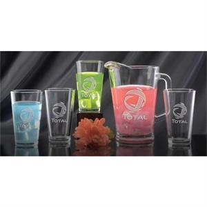 Glass Pitcher and Pint Gift Set