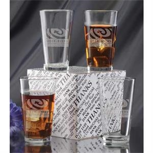 Mixing Glass Thank You Set