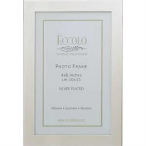 "Silver Collection Simple Elegance - Silverplated Frame, 8"" X 10"""