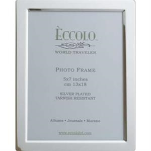 "Silver Collection - Silverplated Beveled Frame, 4"" X 6"""