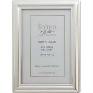 "Silver Collection - Silverplated Classic Frame, 4"" X 6"""