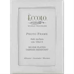 "Silver Collection Loft - Silverplated Frame, 4"" X 6"""