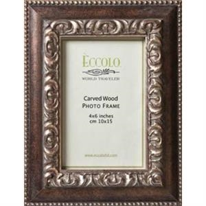 "Fashion Wood Frame Collection Artistico - Wood Frame, 3"" X 3"""