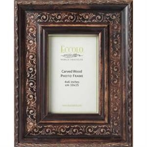 "Fashion Wood Frame Collection Angelico - Wood Frame, 3"" X 3"""
